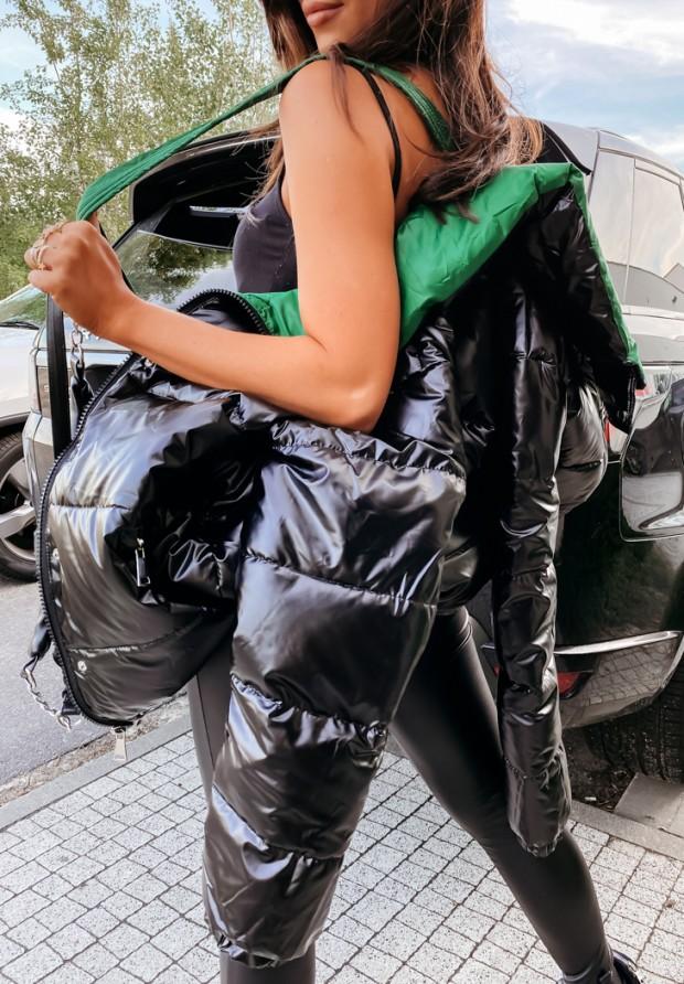 Kurtka Parla Green&Black