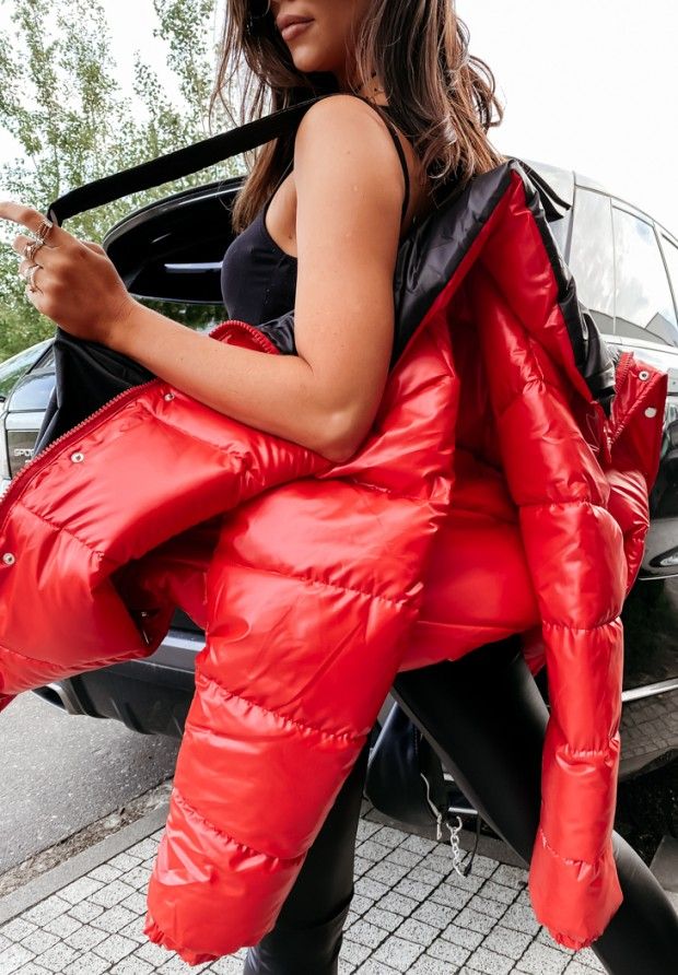 Kurtka Parla Red&Black