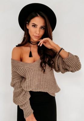 Sweter Hevin Mokka