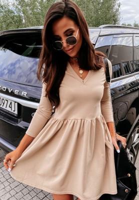 Sukienka Irina Beige