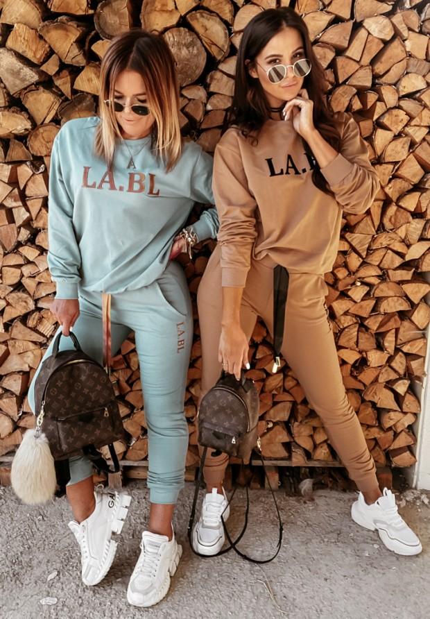 Komplet dresowy LA.BL Camel