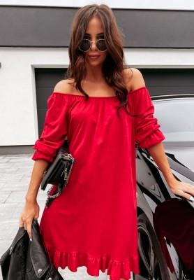Sukienka Hiszpanka Asena Red