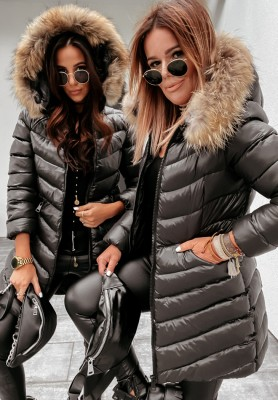 Kurtka Parka Requel Black