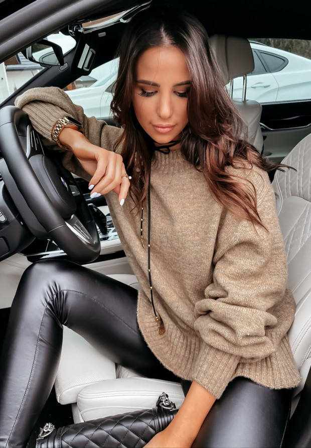Sweter Matilde Taupe