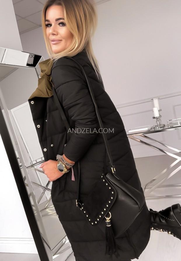 Płaszcz Dwustronny Cover Old Gold&Black