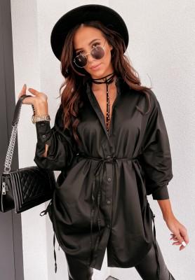 Koszula Oversize Champagne Black