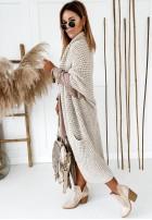 Sweter Kardigan Moi Beige