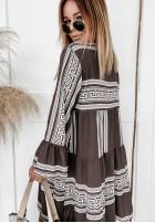 Sukienka Asaria Brown
