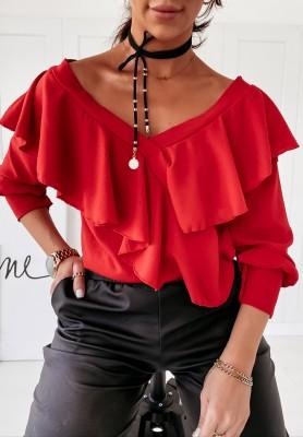 Bluzka Brooke Red
