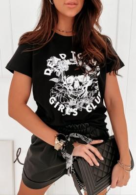 T-shirt Dead To Me Black