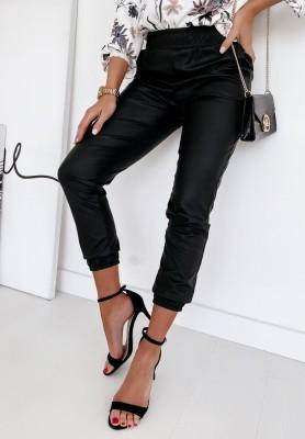 Spodnie Woskowane Asha Black
