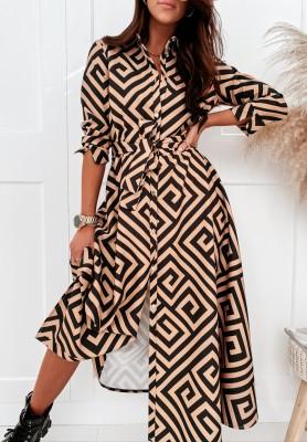Sukienka Cocomore Granda Camel