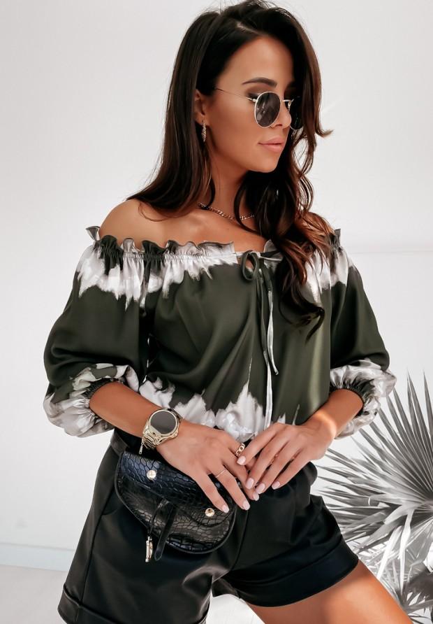 Bluzka Hiszpanka Laila Khaki