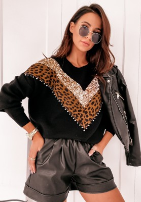 Sweter Culley Panter Black