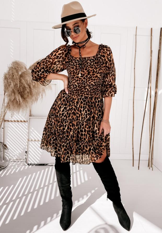Sukienka Rubber Panther Black