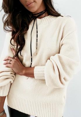 Sweter Matilde Ecru