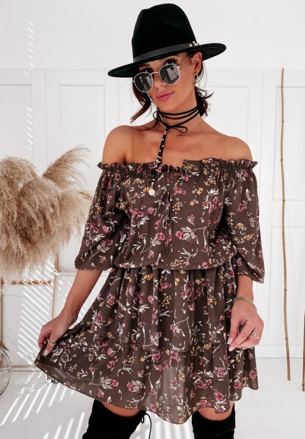 Sukienka Hiszpanka Blase Brown