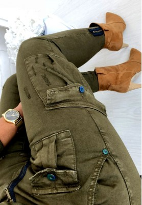 218 Spodnie Galileo Khaki