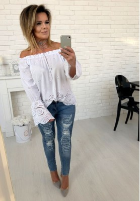 18391 Spodnie Jeans Cancun