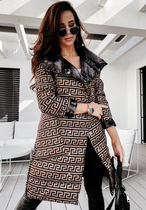 Płaszcz Dwustronny Cover Black&Zigzag
