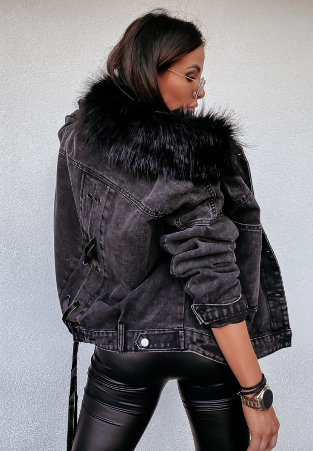 Kurtka Katana Baxter Dark Jeans&Black