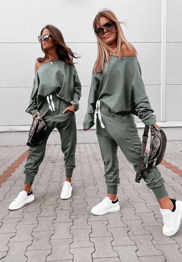 Spodnie Shein Khaki