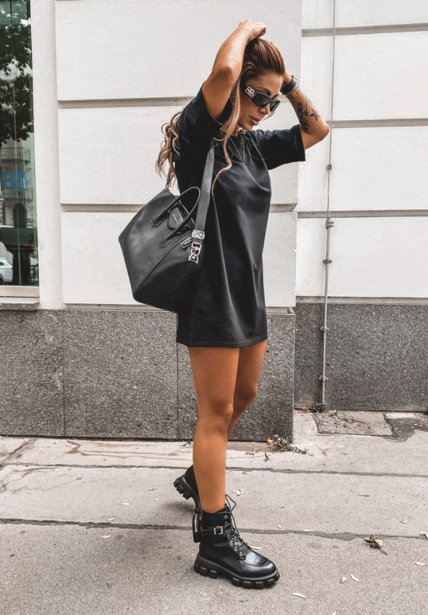 Sukienka Tunika Federica Black