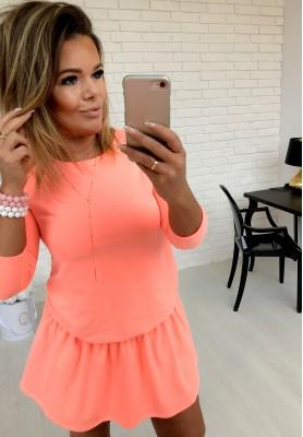 Sukienka Emi Neon Orange