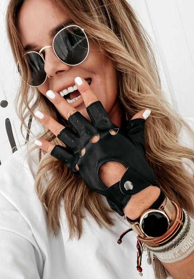 Rękawiczki Aviator Black