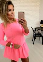 Sukienka Emi Neon Pink