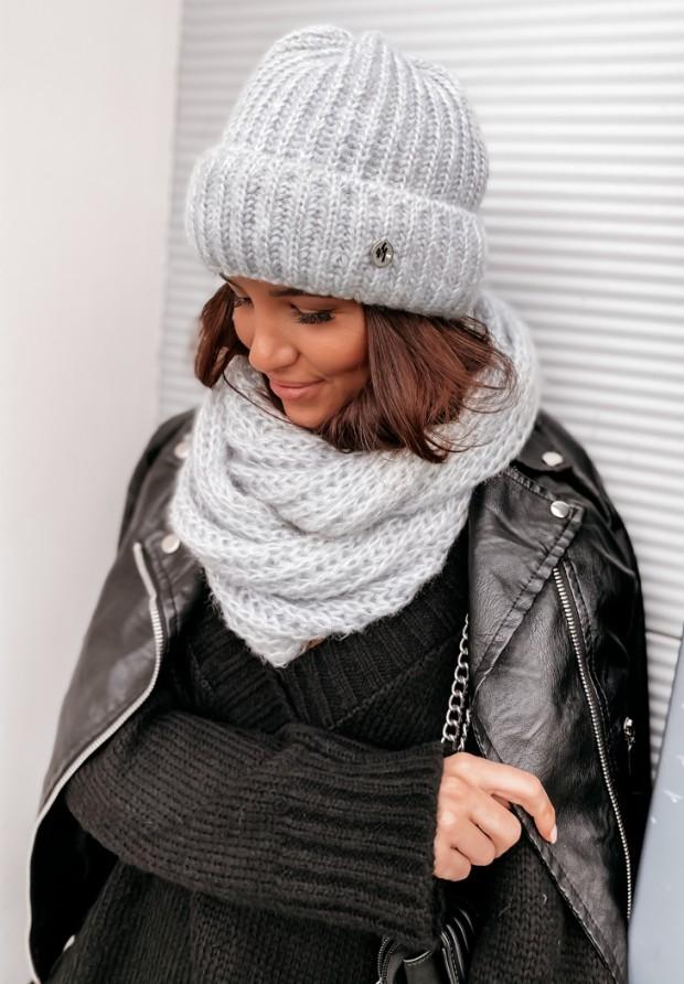 Szalik Winter Grey