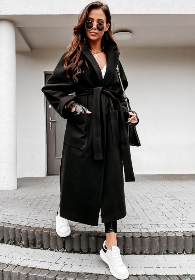 Płaszcz Oversize Maddy Black