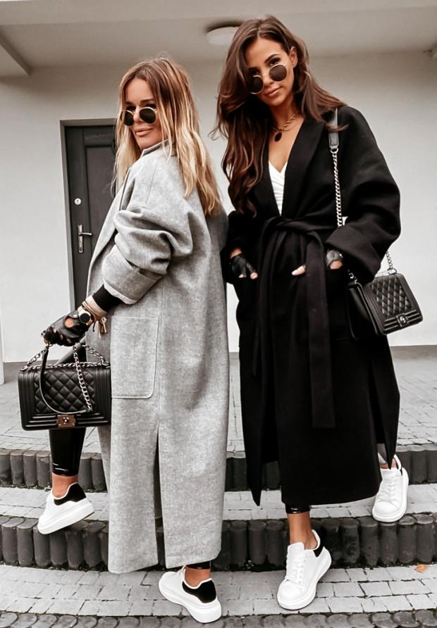 Płaszcz Oversize Maddy Grey