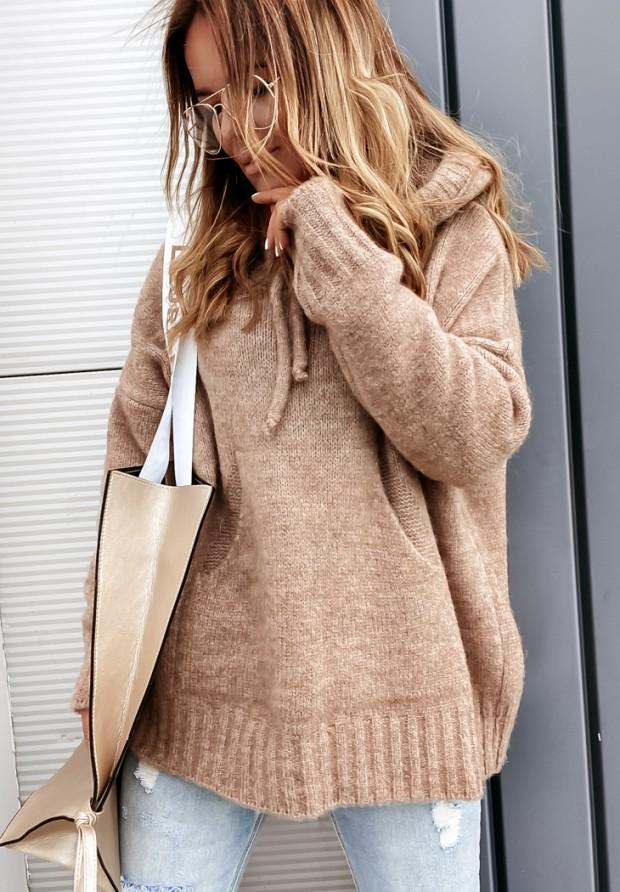 Sweter Carra Camel