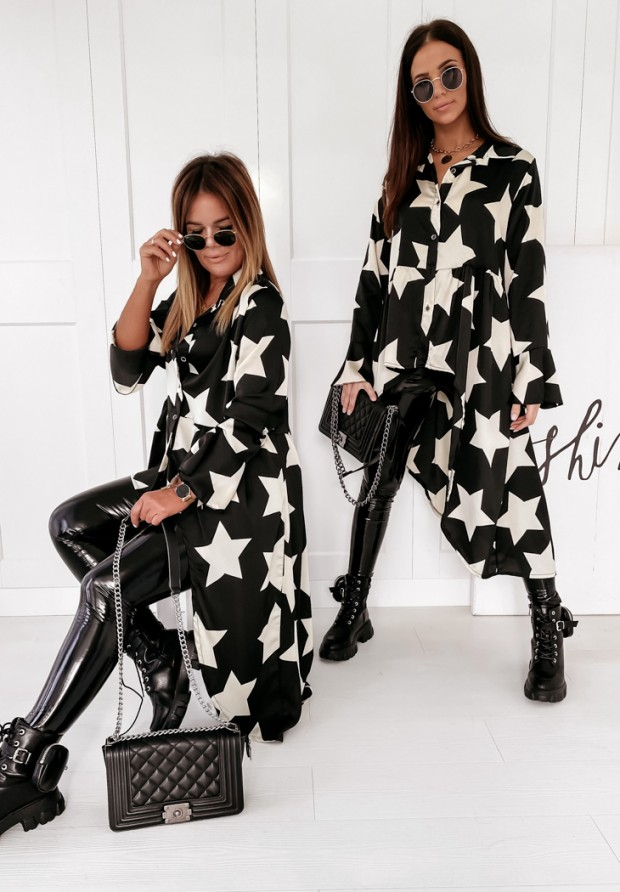Koszula Tunika Star Black