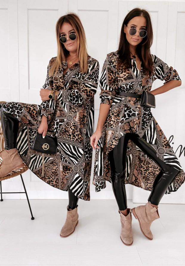 Koszula Tunika Animal Print