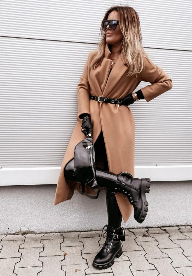 Płaszcz Sophia Camel