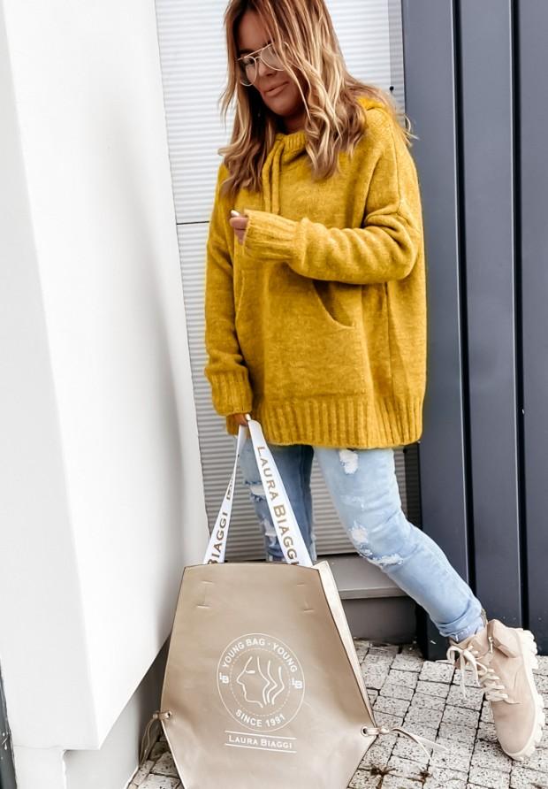 Sweter Carra Mustard