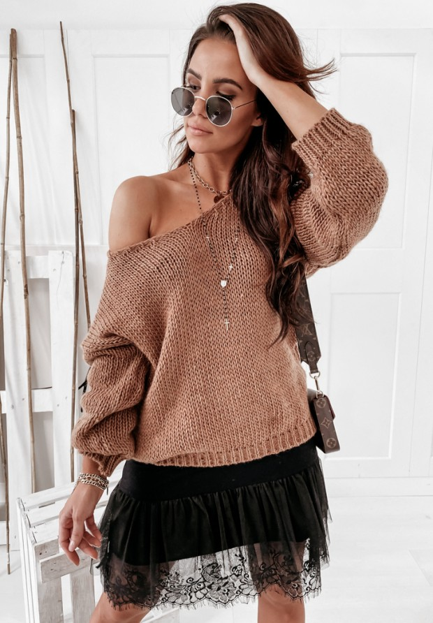 Sweter Chiocco Camel