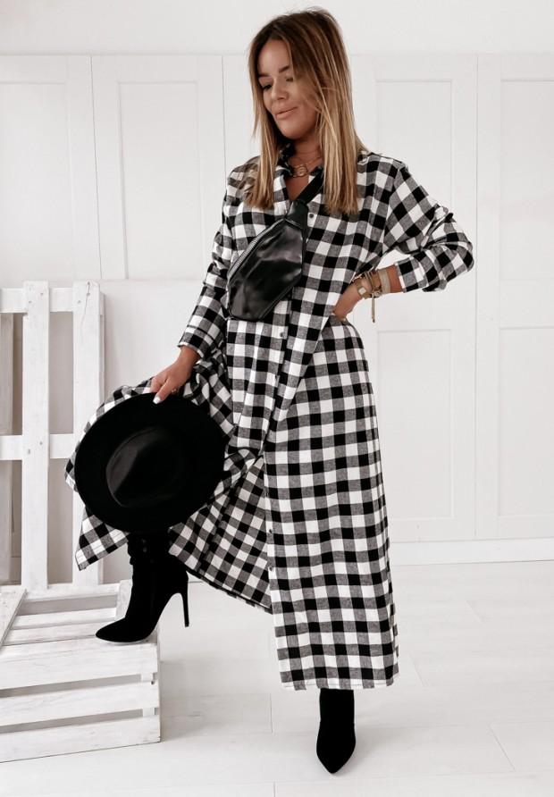Sukienka Krata Libby Black&White