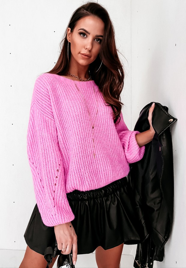 Sweter Promise Pink