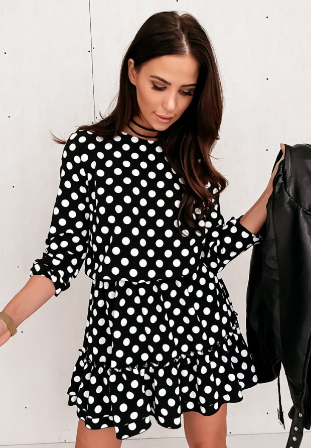 Sukienka Groszki Black