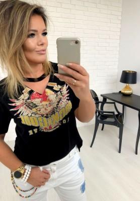 1856 T-shirt Rock & Cool Black