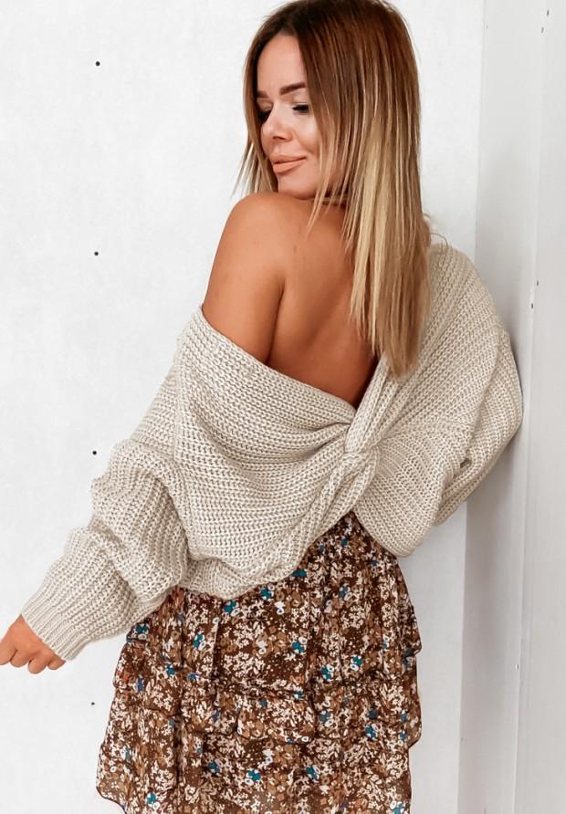 Sweter Cocomore Verti Beige