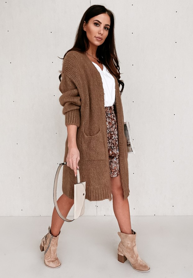 Sweter Kardigan Moher Pretty Chocolate