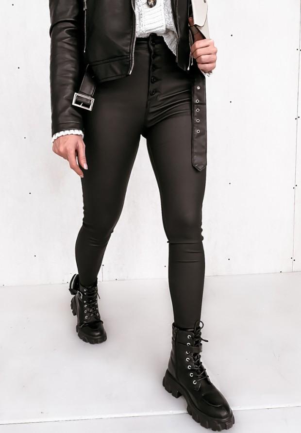 Spodnie Woskowane Rocket Black