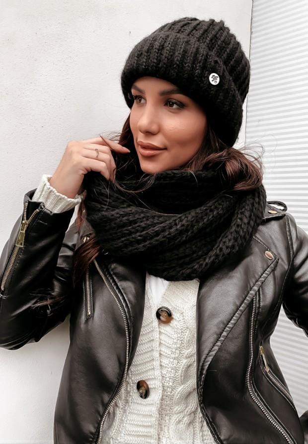 Szalik Winter Black