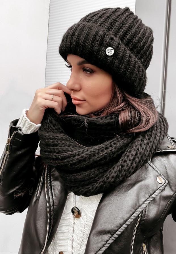 Czapka Winter Black