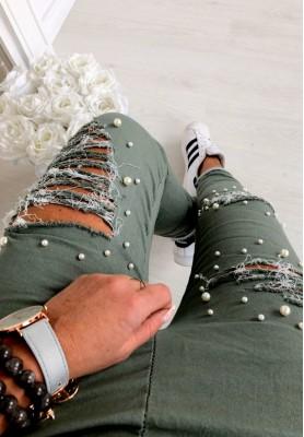 Spodnie Glamour Khaki