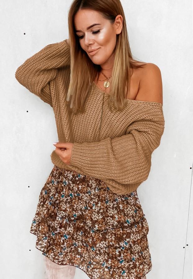 Sweter Cocomore Verti Camel